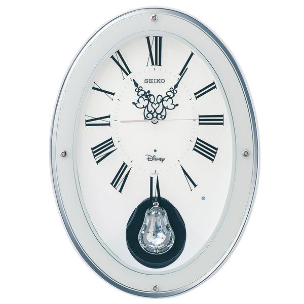 ミッキー&ミニーの楽しいクロック! ディズニークロック 振り子時計 FS508W セイコー SEIKO時計