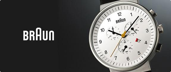 BRAUN腕時計、ブラウン腕時計